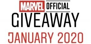Marvel Official Giveaway January 2020 - Marvelofficial.com