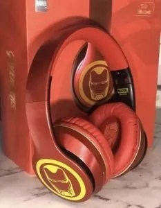 Marvel Wireless Headset Iron Man - marvelofficial.com