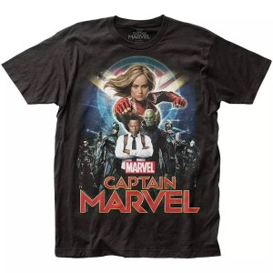 Marvel Captain Marvel Movie T-Shirt - Marvelofficial.com