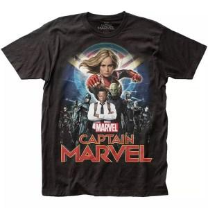 Marvel Captain Marvel Movie T-Shirt - Marvelofficial.com
