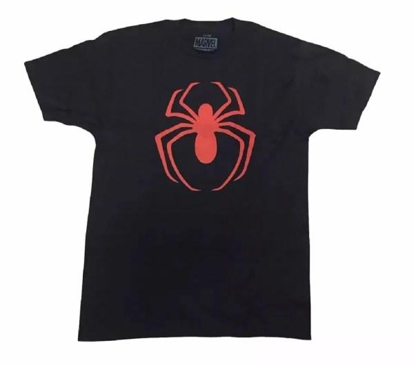 Marvel Red Spider-Man Logo T-Shirt - Marvelofficial.com