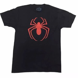 Marvel Red Spider-Man Logo T-Shirt - Marvelofficial.com