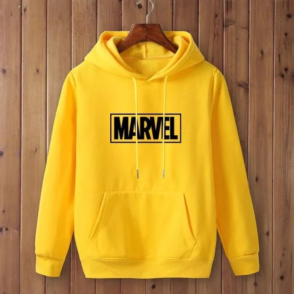 Marvel yellow logo hoodie - Marvelofficial.com