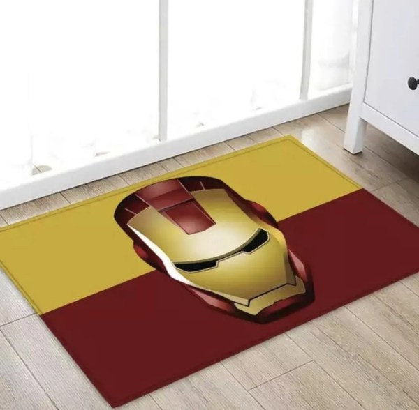 Marvel Superhero Iron Man Area Rug - MArvelofficial.com