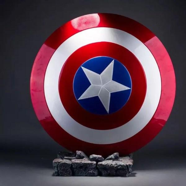 real metal captain america shield - MARVELOFFICIAL.COM