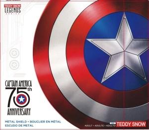 Captain america 75th anniversary shiedl box