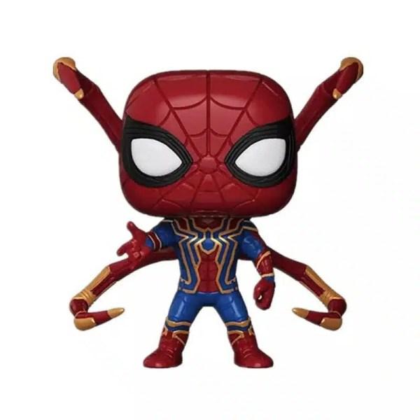 Marvel avengers infinity war funko pop iron spider limited edition - marvelofficial.com