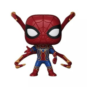 Marvel avengers infinity war funko pop iron spider limited edition - marvelofficial.com