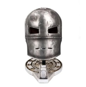 Iron Man Mark I helmet lifesize prop replica - Marvelofficial.com