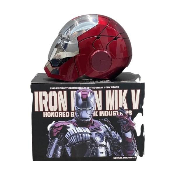 iron man mark 5 helmet - marvelofficial.com
