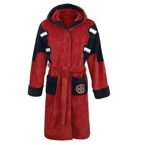 marvel deadpool bathrobe - marvelofficial.com