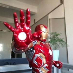 Collectible Iron Man Mark 43 Action Figure 50cm - marvelofficial.com