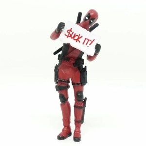 Collectible Mini Deadpool movie Figure V1 8cm