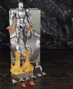 Collectible Iron Man MK 2 Action Figure 17cm