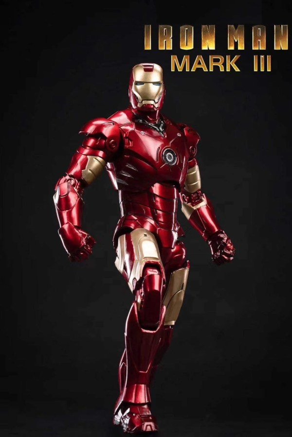 marvel iron man mk 3 action figure - marvelofficial.com