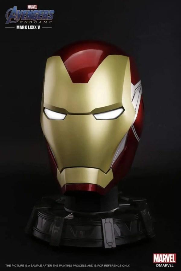 Endgame Iron Man MK85 Helmet [NEW VERSION]