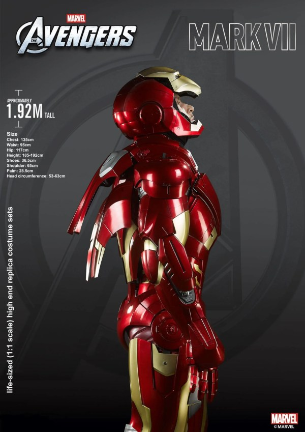mk 7 cosplay - real iron man suit - marvelofficial.com