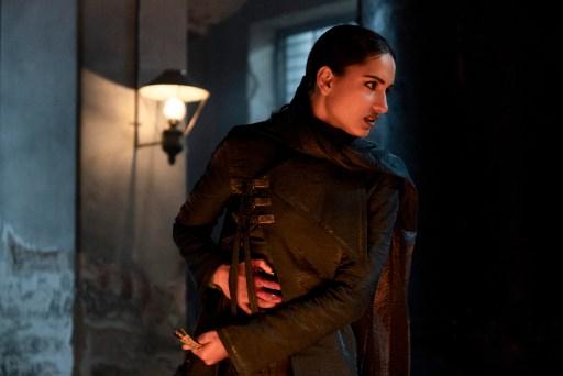 "Amita Suman as Inej Ghafa in Shadow and Bone's ""The Heart is an Arrow"""