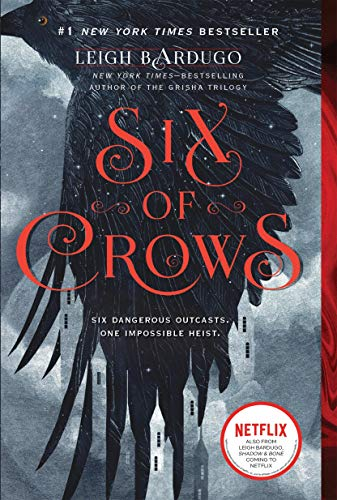 Leigh Bardugo's Six of Crows book cover from the Grishaverse's Six of Crows duology.