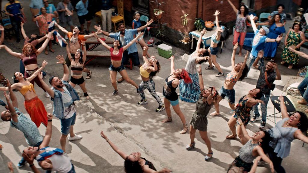 Production still from In the Heights.
