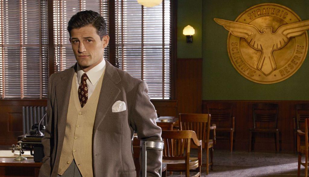 Enver Gjokaj as Daniel Sousa in a promotional shot for Marvel's Agent Carter