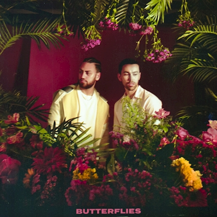 """Single cover of """"Butterflies"""" by Max and Ali Gatie"""
