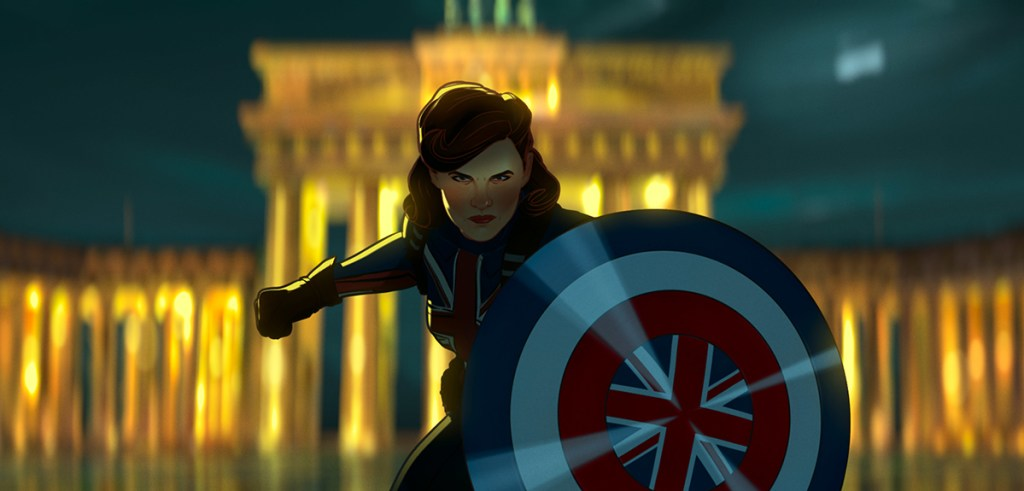 Captain Carter in Disney's What If...?