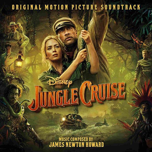 Key Art for Jungle Cruise Original Score by James Newton Howard