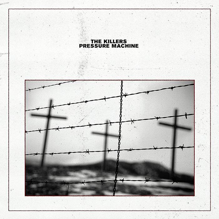 Album cover and key art for The Killers' Pressure Machine album