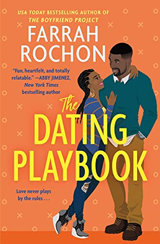 Cover page for Farrah Rochon's The Dating Playbook