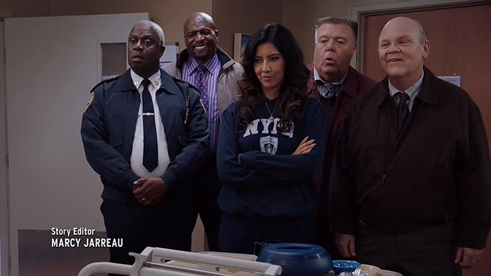 """Still from Brooklyn Nine-Nine's """"Lights Out"""""""