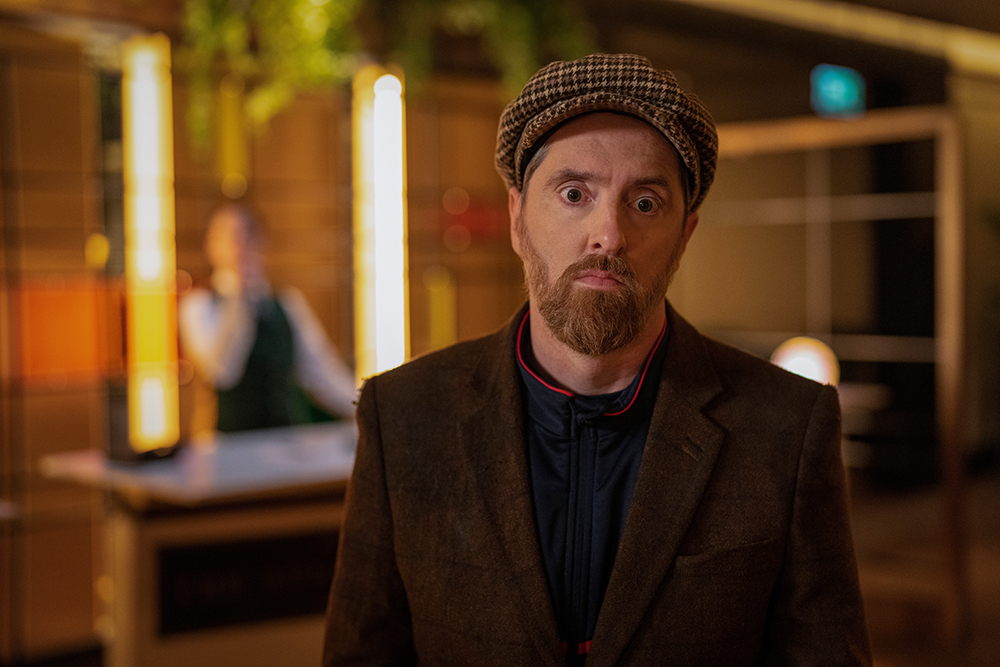 """Brendan Hunt in """"Ted Lasso"""" season two, episode """"Beard After Hours"""" now streaming on Apple TV+."""