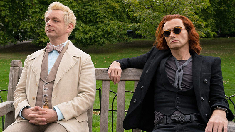 Screenshot from Amazon Prime's Good Omens