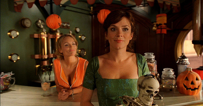 "Screenshot from Pushing Daisies episode ""Girth""."
