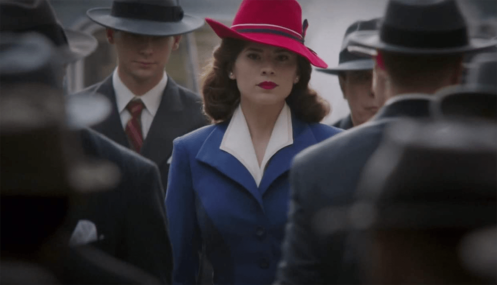 """Screenshot from Agent Carter """"Now is Not the End"""" + """"Bridge and Tunnel""""."""