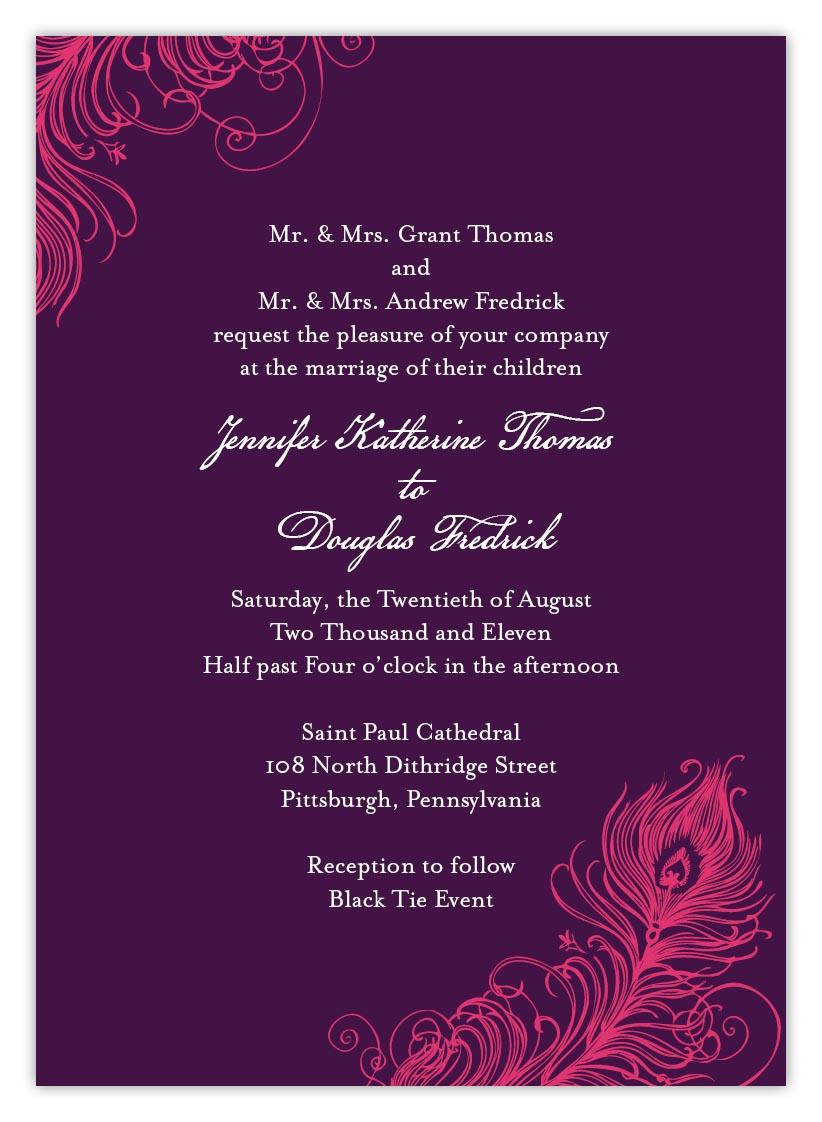 wedding invitations for the savvy bride