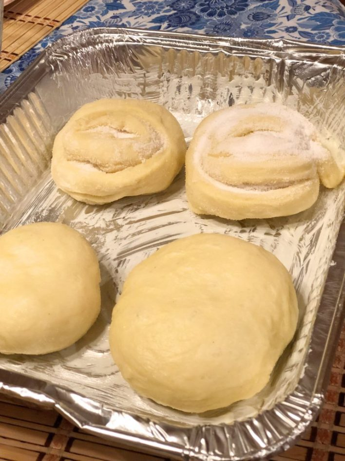 Paska Easter Bread dough