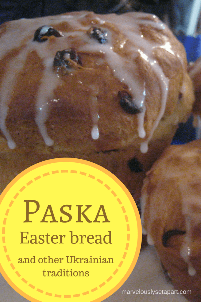 Easter bread and other Easter traditions