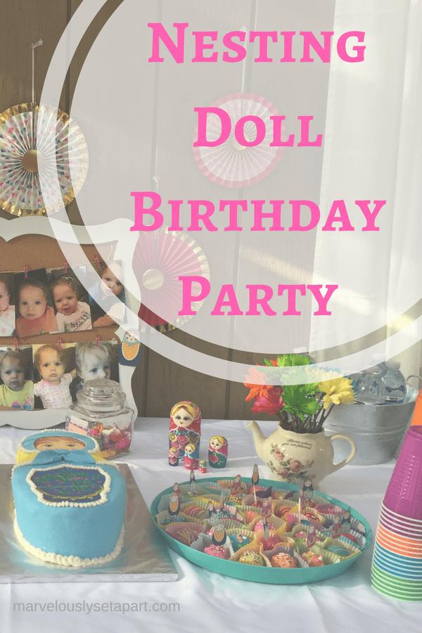 Nesting Doll Birthday