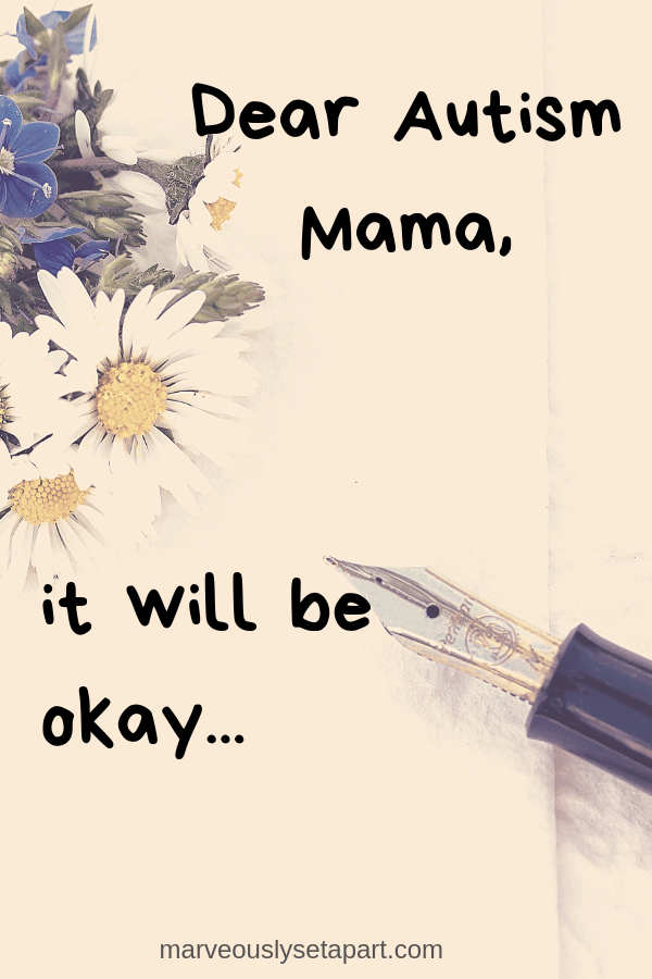 letter to autism mom