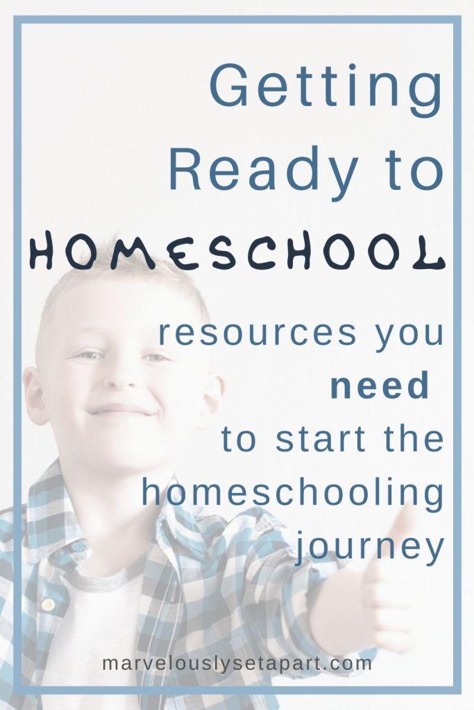 ready to homeschool