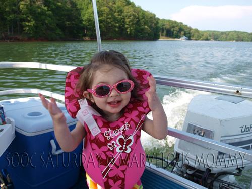SOOC_Natalie on Boat