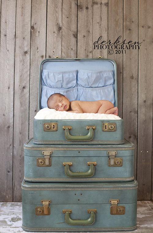 suitcase props