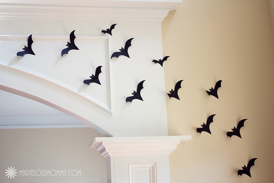 also check out the list of halloween themed food - Halloween Bat Decorations