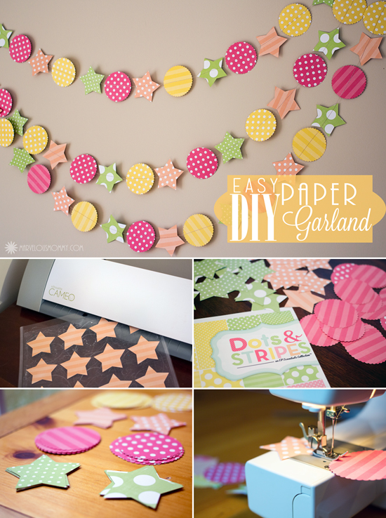 Easy DIY Paper Garland