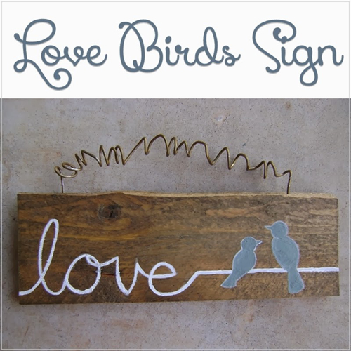 love bird sign