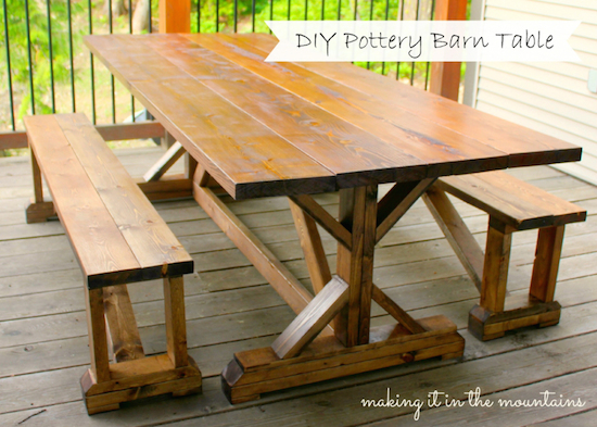 DIY-Pottery-Barn-Table-Knockoff