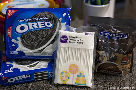 Oreo Pop Supplies