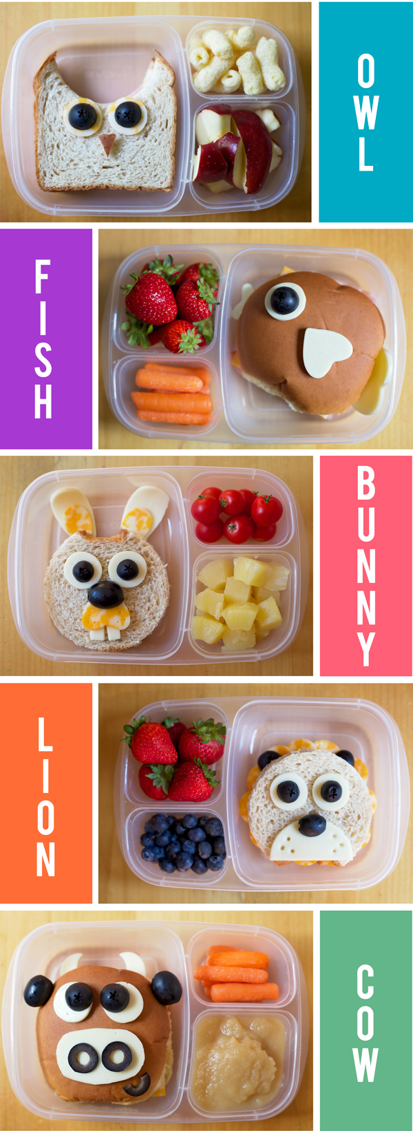 Animal-themed Bento | Healthy School Lunch Ideas Your Kids Will Love | Homemade Recipes