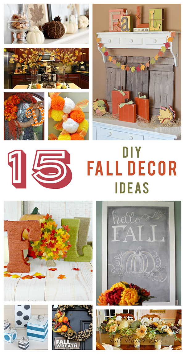 15 DIY Fall Decor Ideas